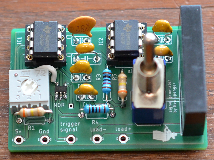 Signal Generator to make signals for things such as Lasers and Arcade gun solenoid valves.